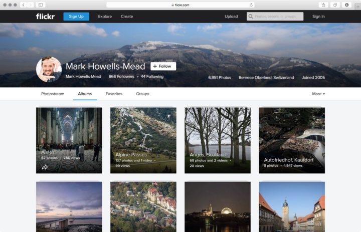 Flickr galleries