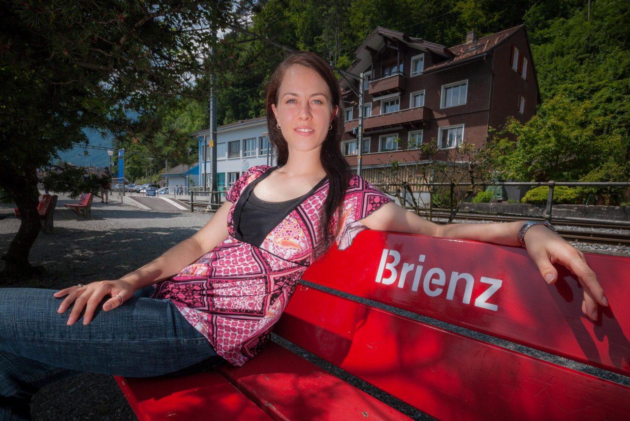 Portrait of Eva von Allmen in Brienz
