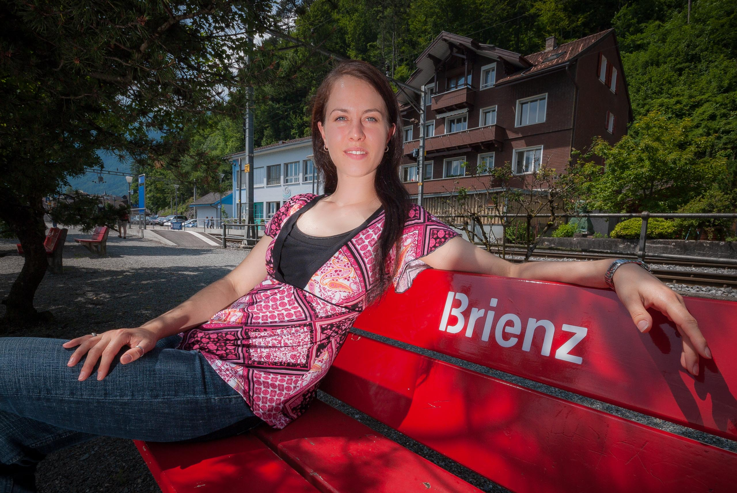 Portrait of Eva von Allmen in Brienz