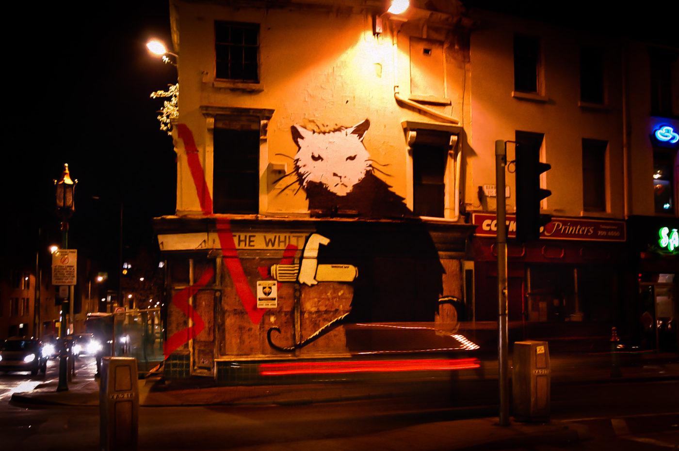 Resultado de imagen para White Rat, Banksy liverpool
