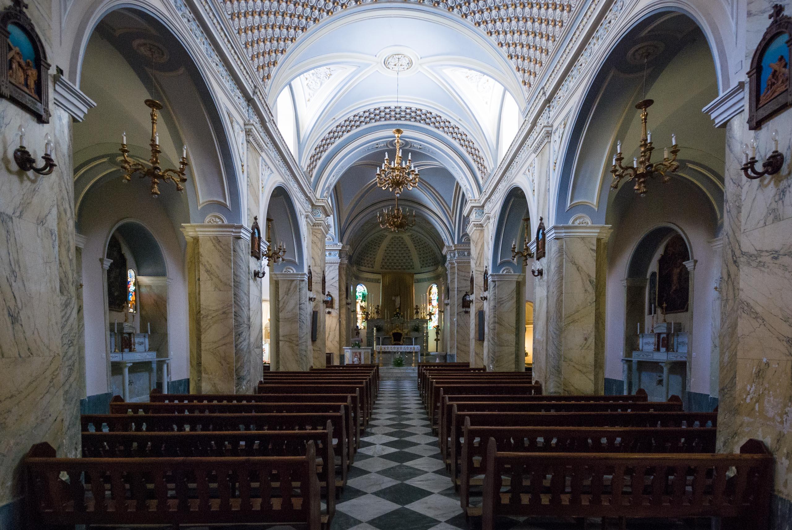Santuario Santa Maria del Terzito, Salina