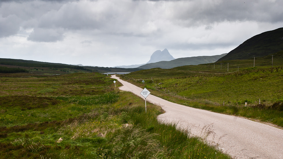 Suilven, from the main road