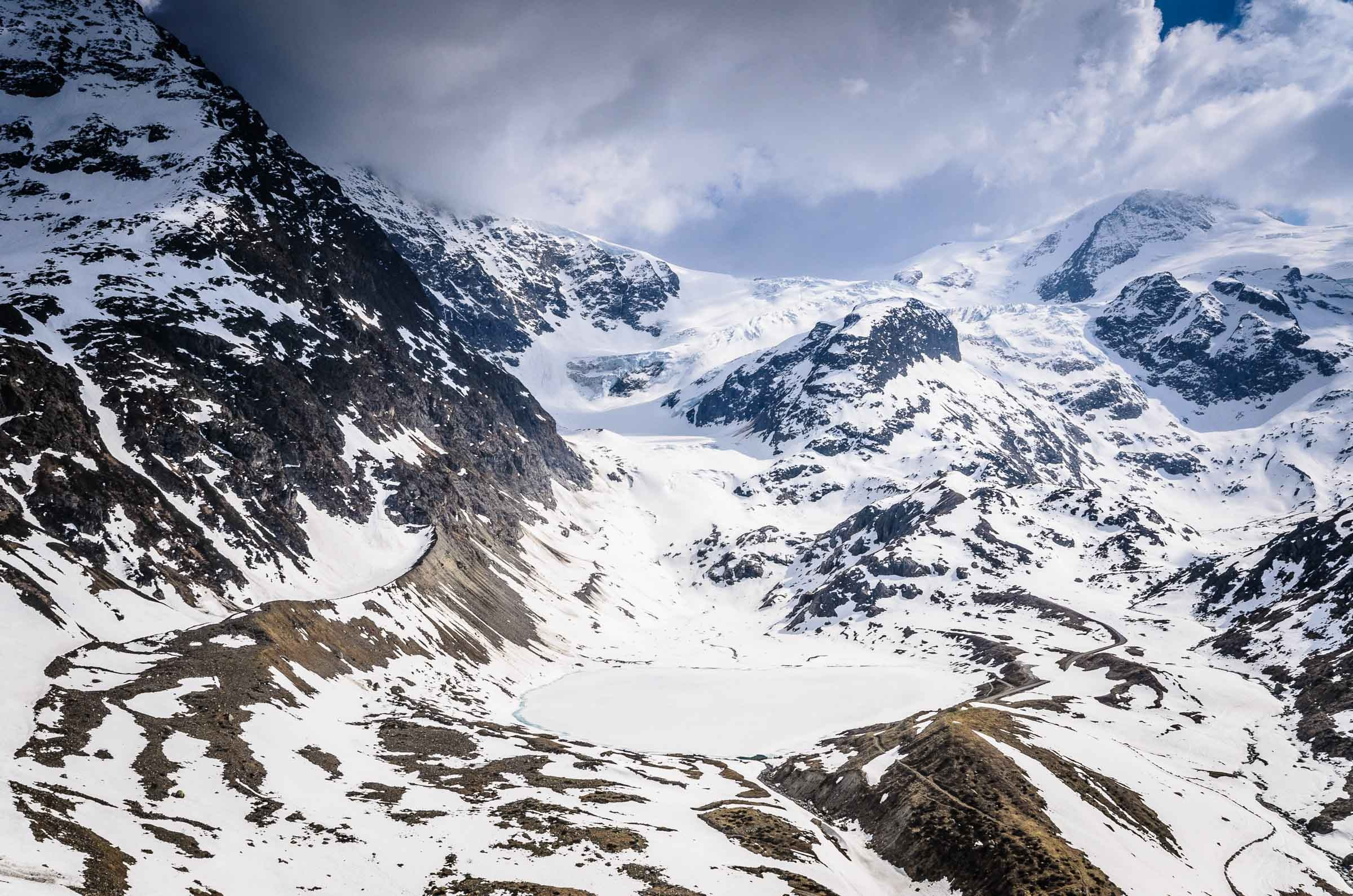 Steingletscher glacier, Switzerland