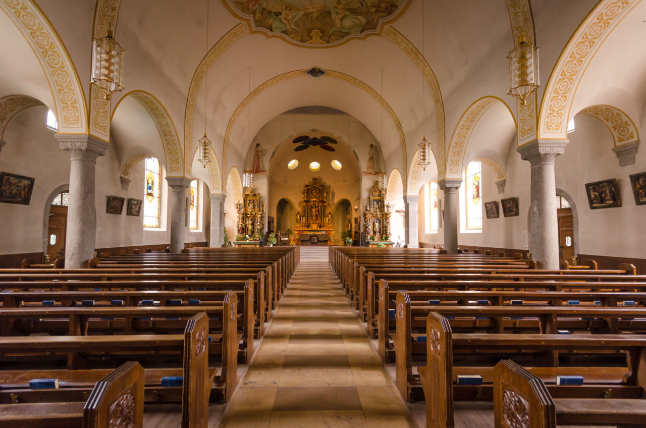 St Mauritius Church, Zermatt VS