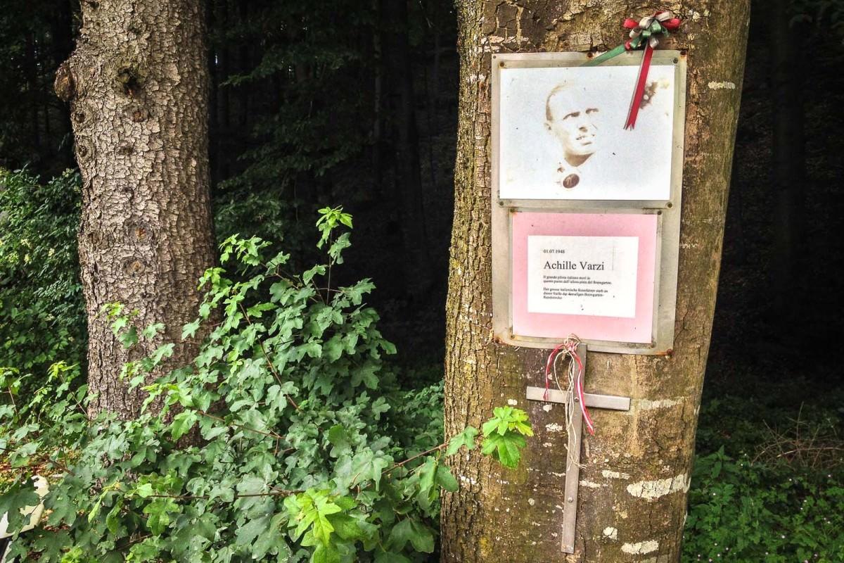 Memorial to Achille Varzi
