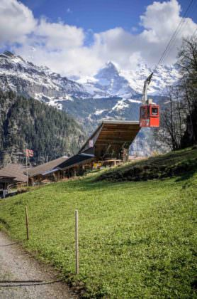 Isenfluh-Sulwald cable car