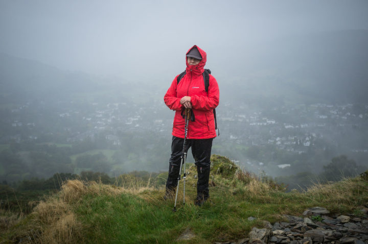 Jo on Loughrigg Fell