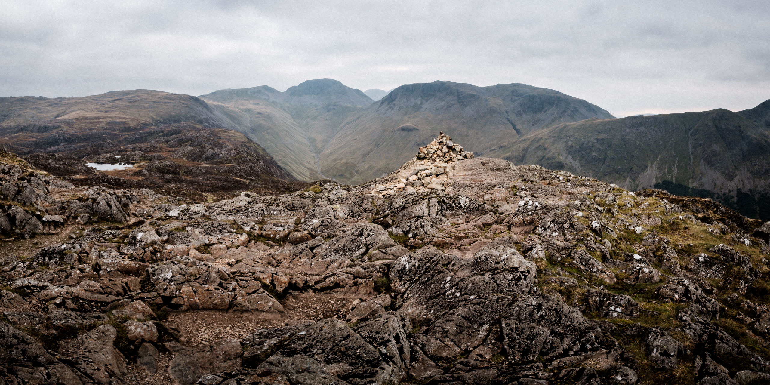 The summit of Haystacks