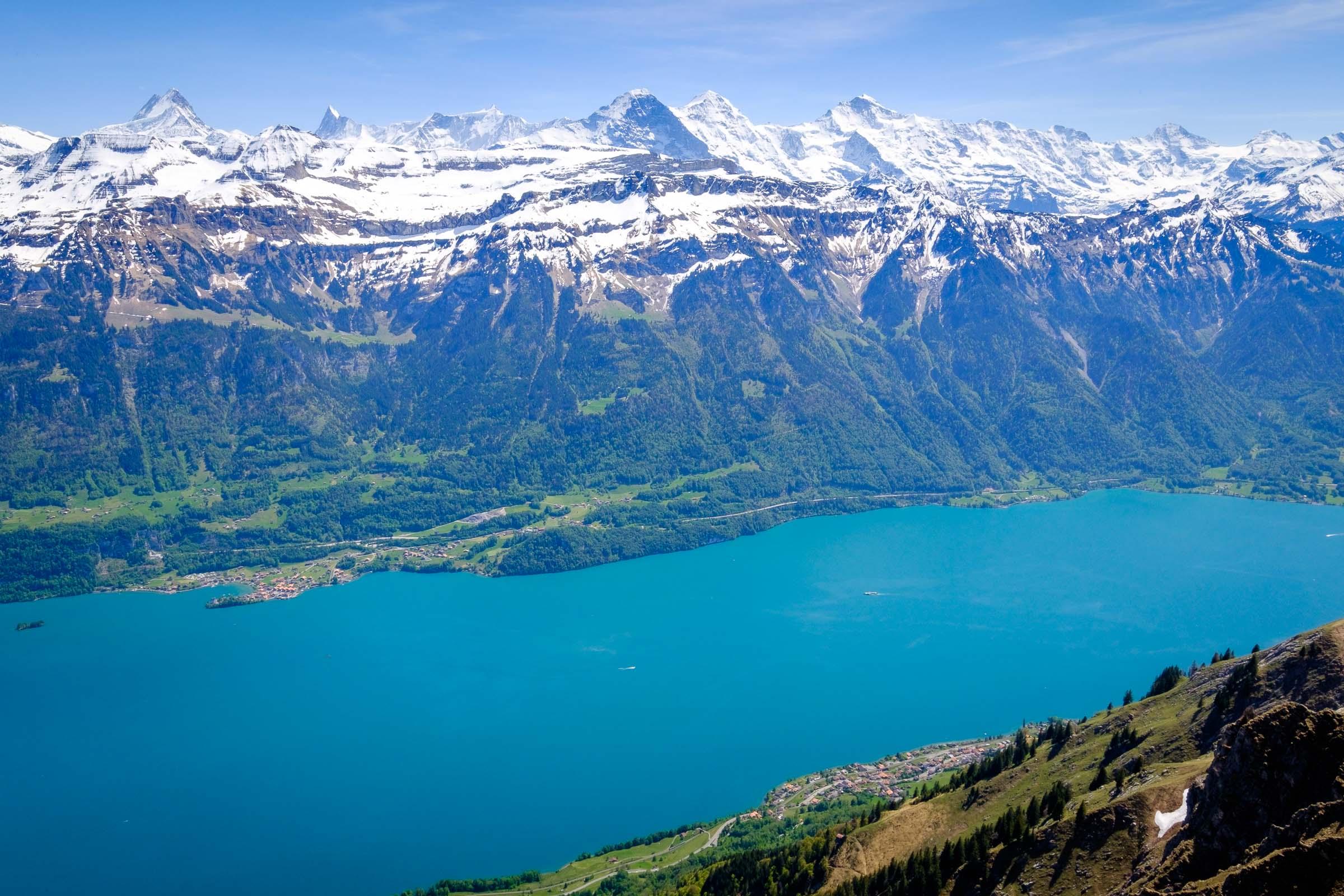 Lake Brienz from Augstmatthorn