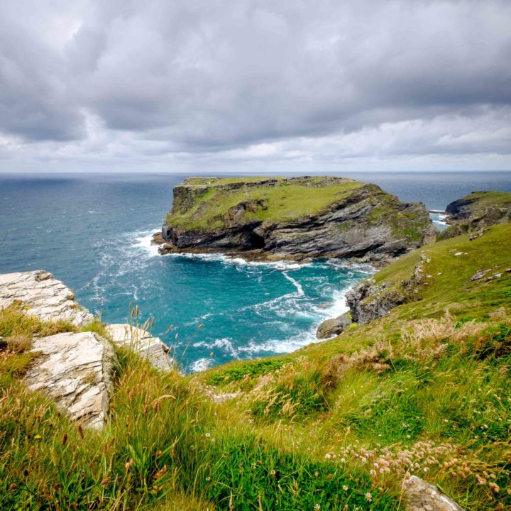 The coast at Tintagel