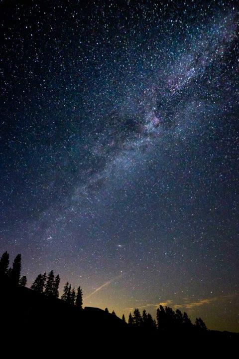 Milky Way above Habkern