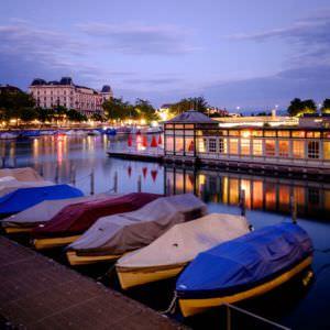 Frauenbad Stadthausquai, Zurich