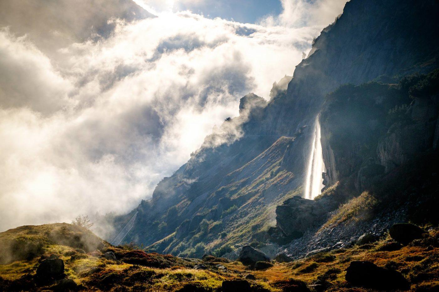 Wyssebach Falls, Susten, Switzerland