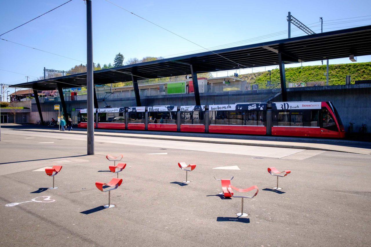 Brünnen Westside Bahnhof (line 8), Bern, Switzerland