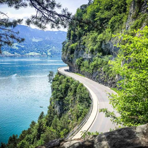Corniche Road, Beatenberg, Switzerland