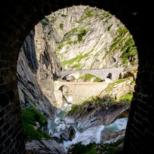 Schöllenen Gorge, Switzerland