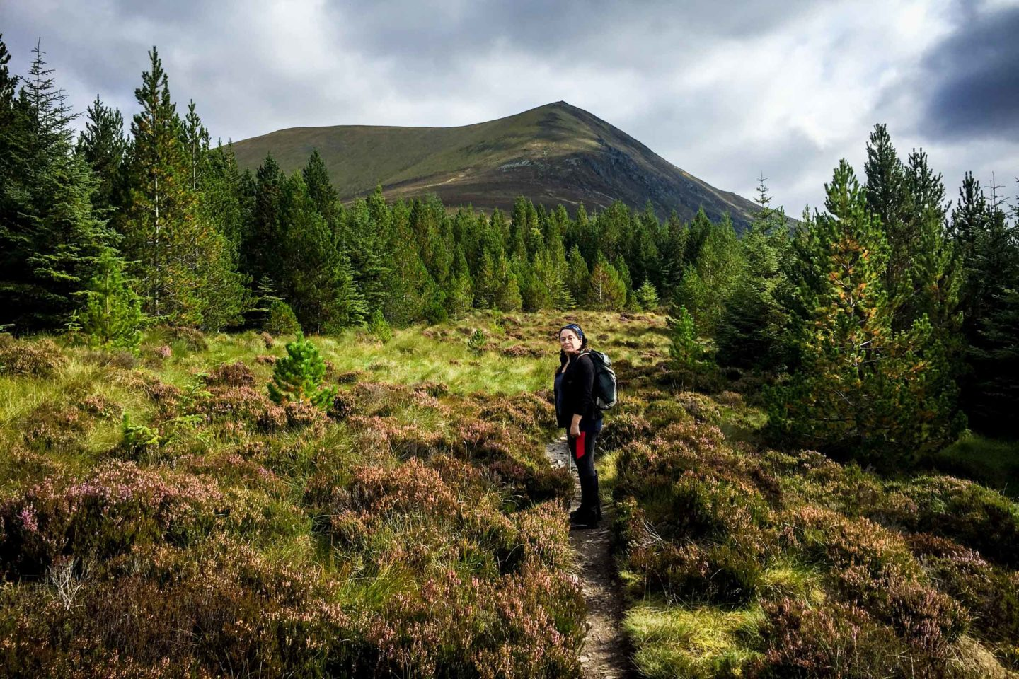 Hiking Ben Wyvis in Scotland