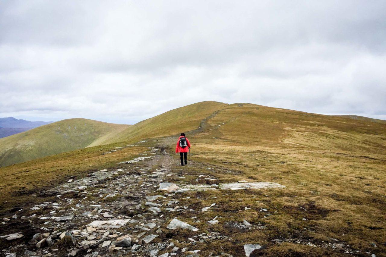 Hiking Ben Wyvis in Scotland