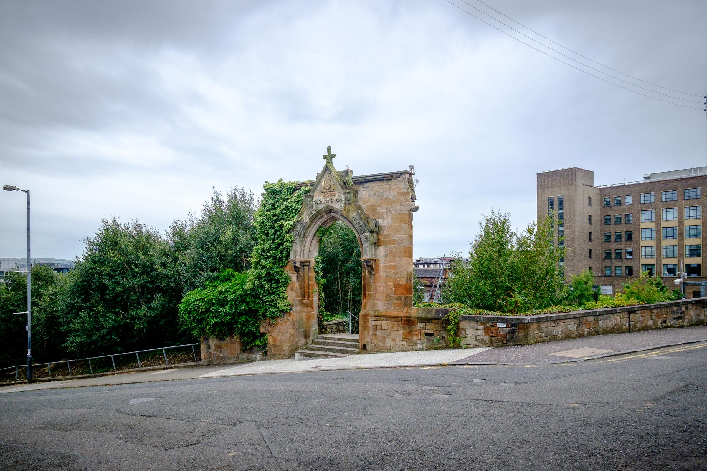 Entrance to The Rottenrow, Glasgow