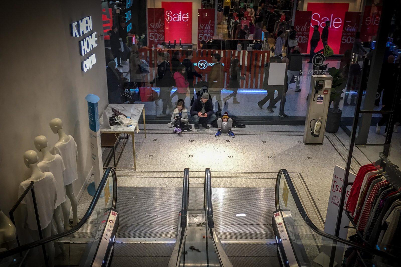 White Rose shopping centre, Leeds