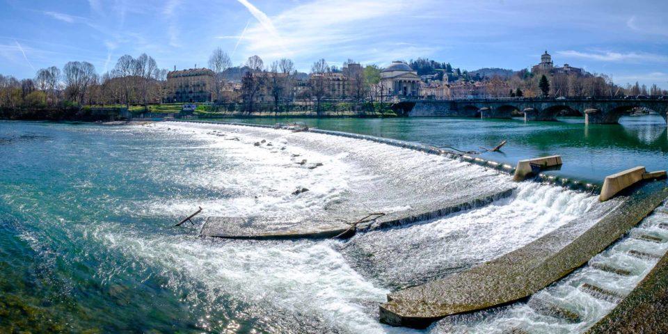River Po, Turin, Italy