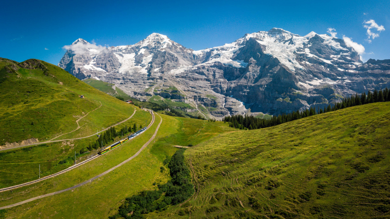 Wengernalp, Switzerland