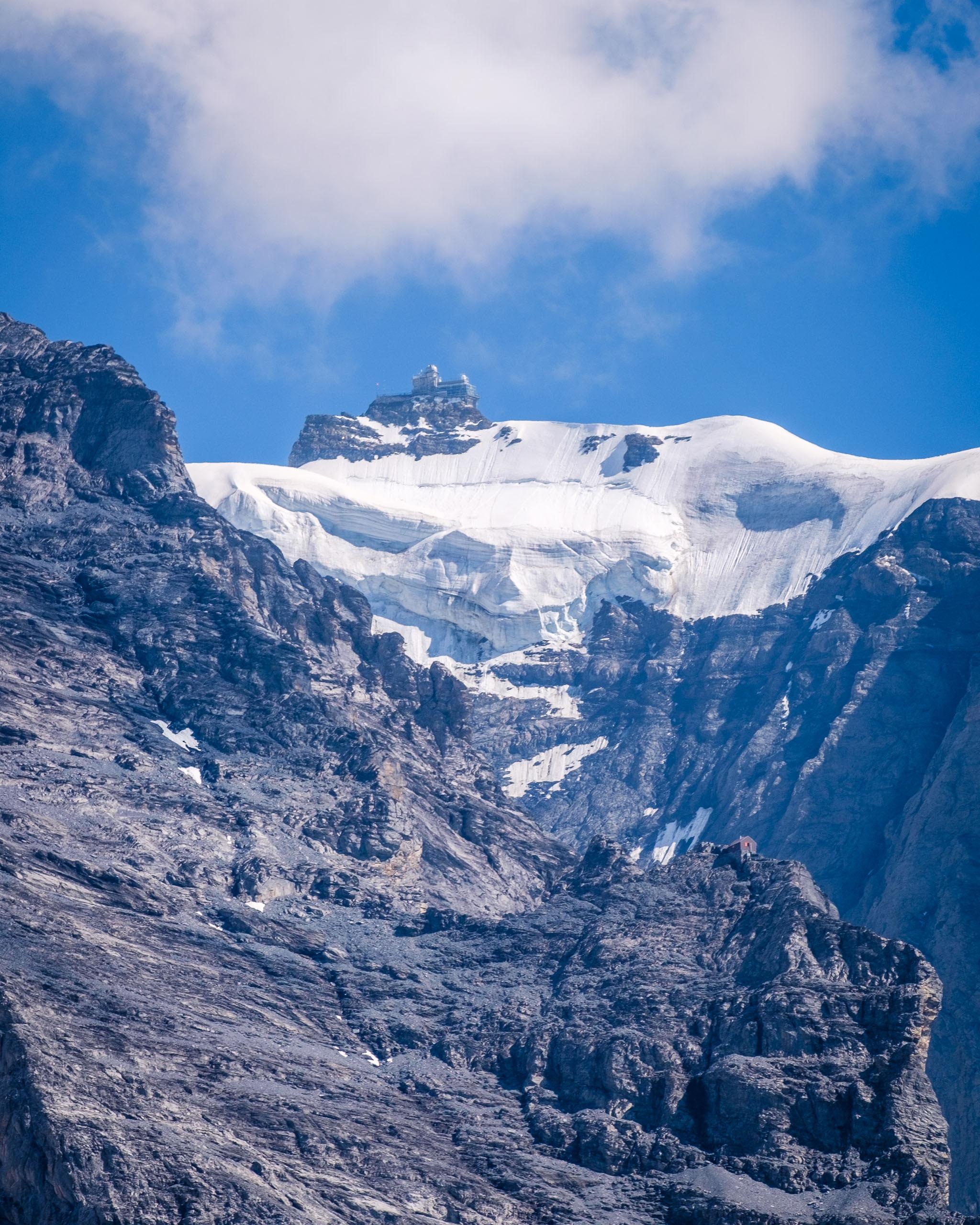 Jungfraujoch from Wengernalp