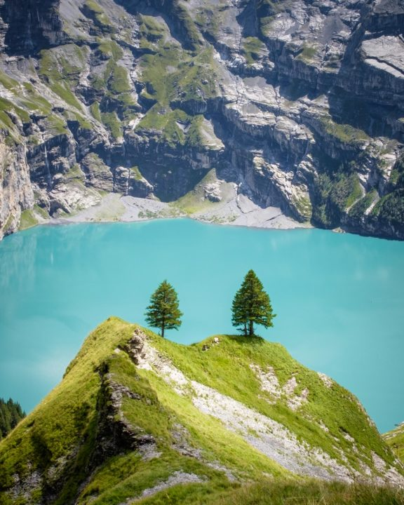 Heuberg, Oeschinensee, Switzerland
