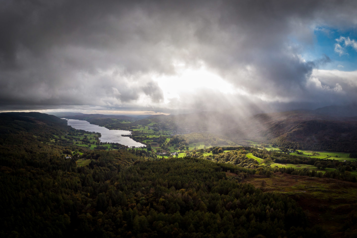 Squall over Coniston
