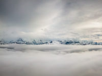 Above the clouds, Beatenberg, Switzerland