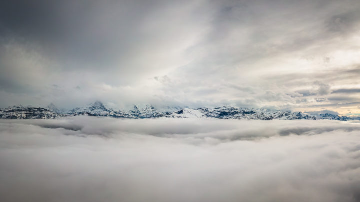 Above the clouds, Beatenberg, Switzerland