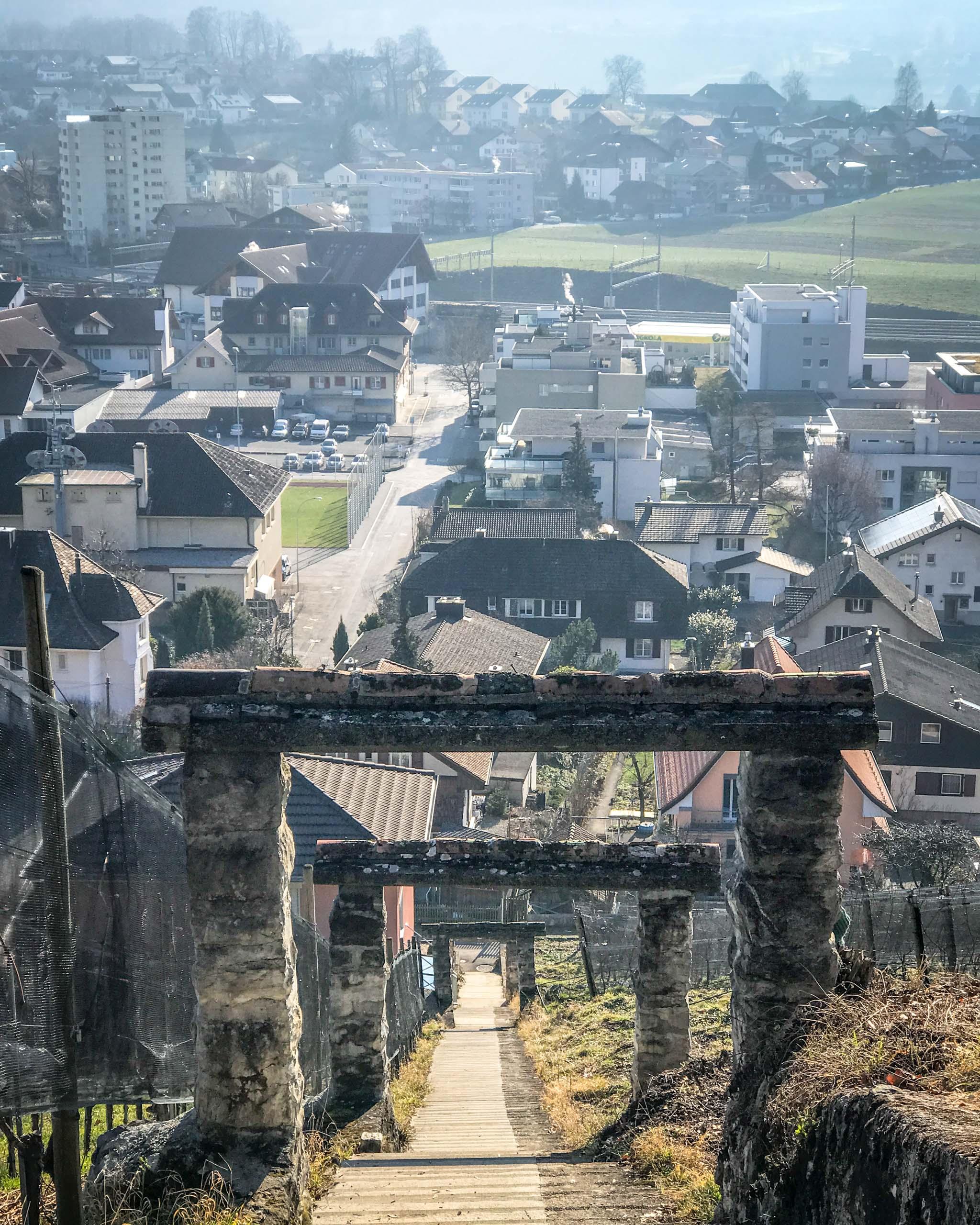 Winter walk in Spiez