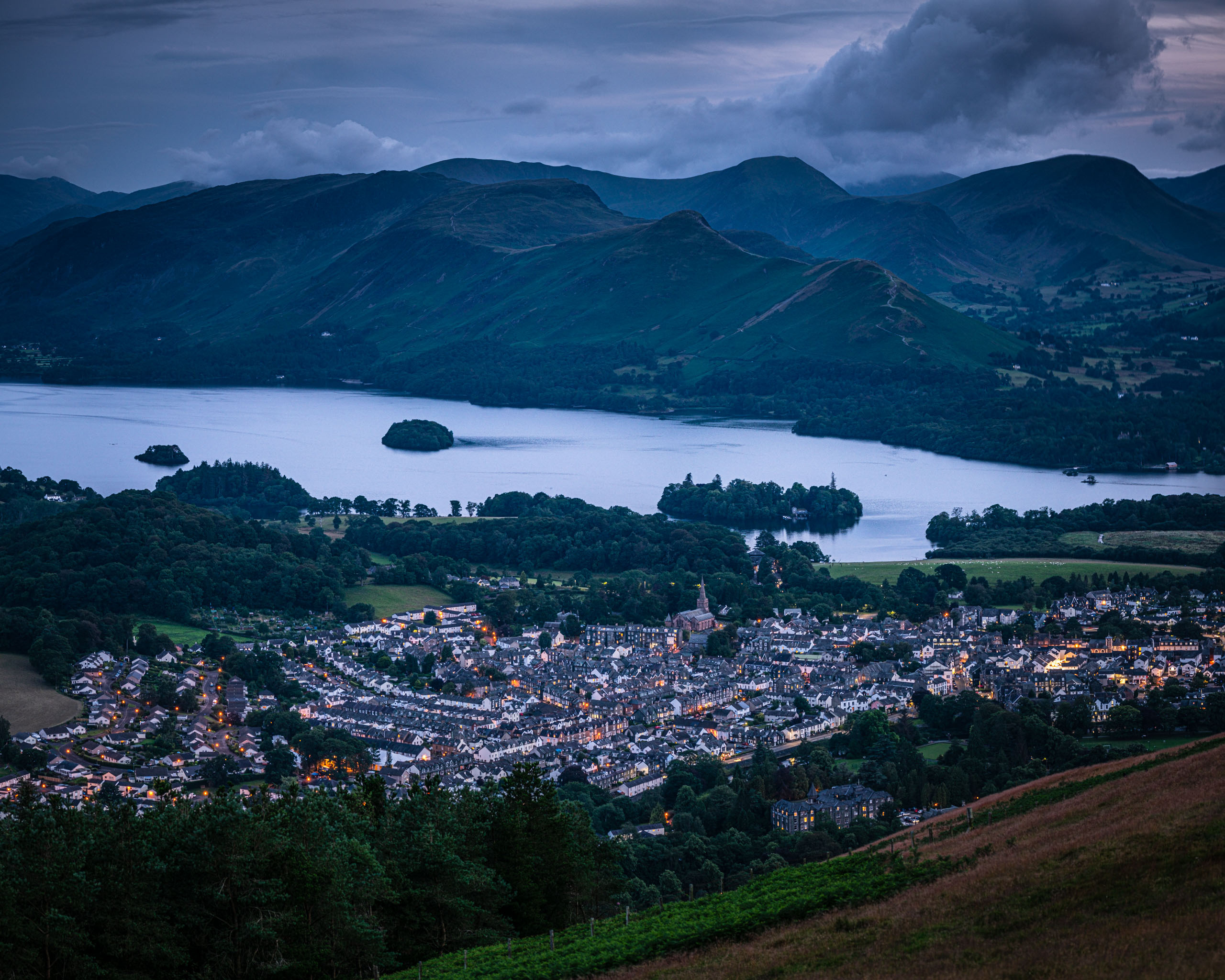 Keswick from Latrigg