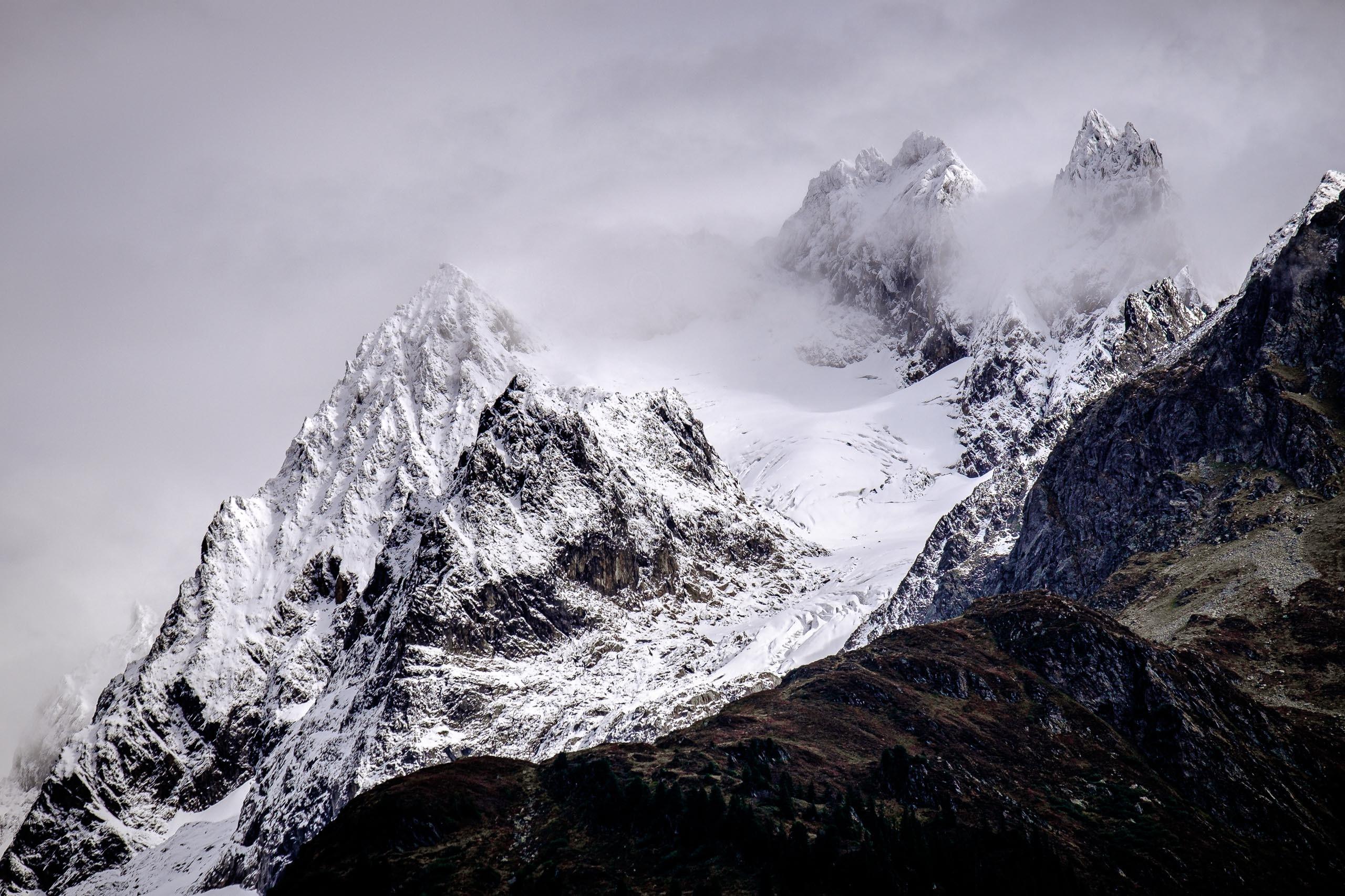 Urat glacier in Swiss canton Bern