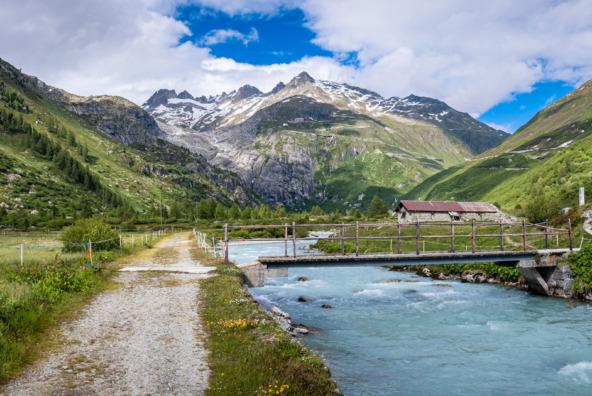 River Rhone at Gletschbode