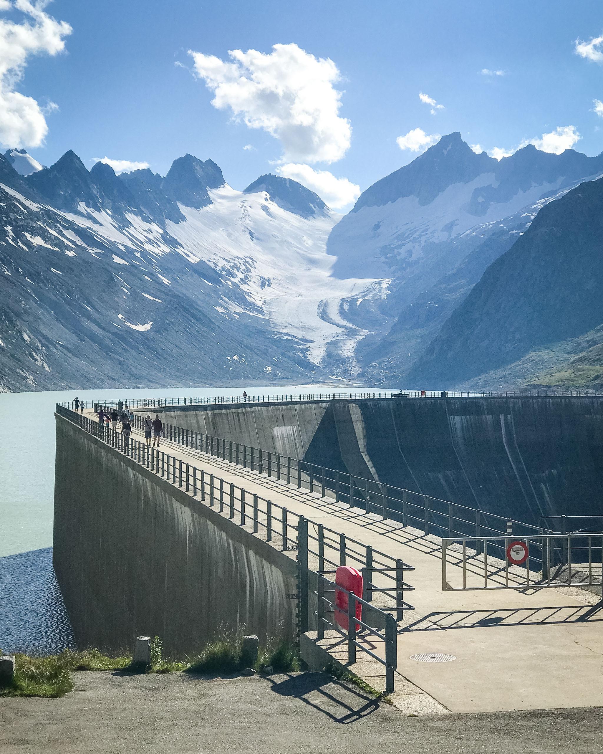 Oberaar dam, Switzerland