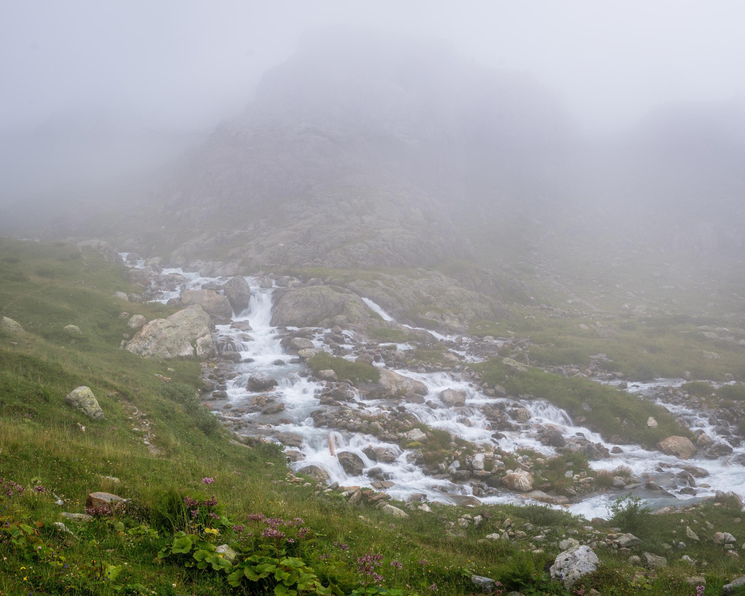 Unnamed glacial runoff, Steingletscher