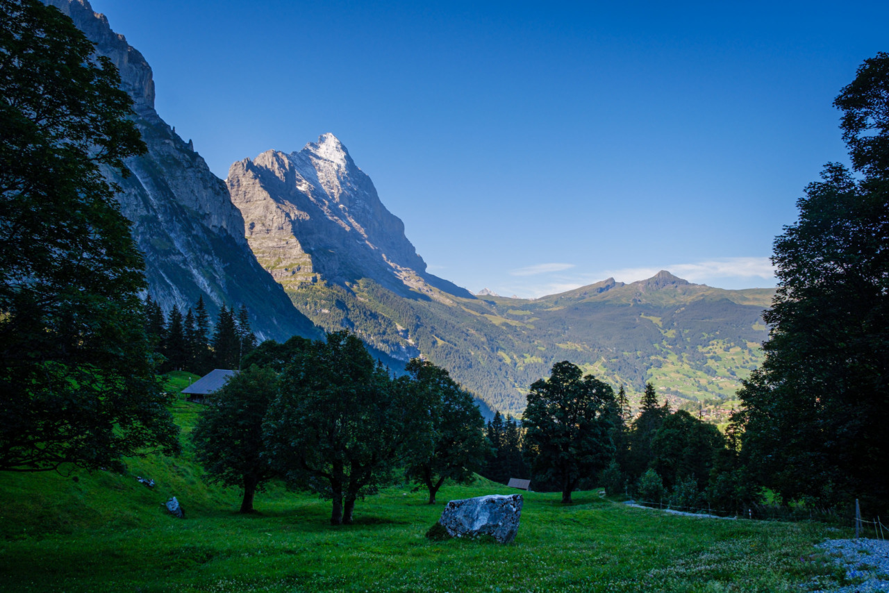 Eiger, early morning
