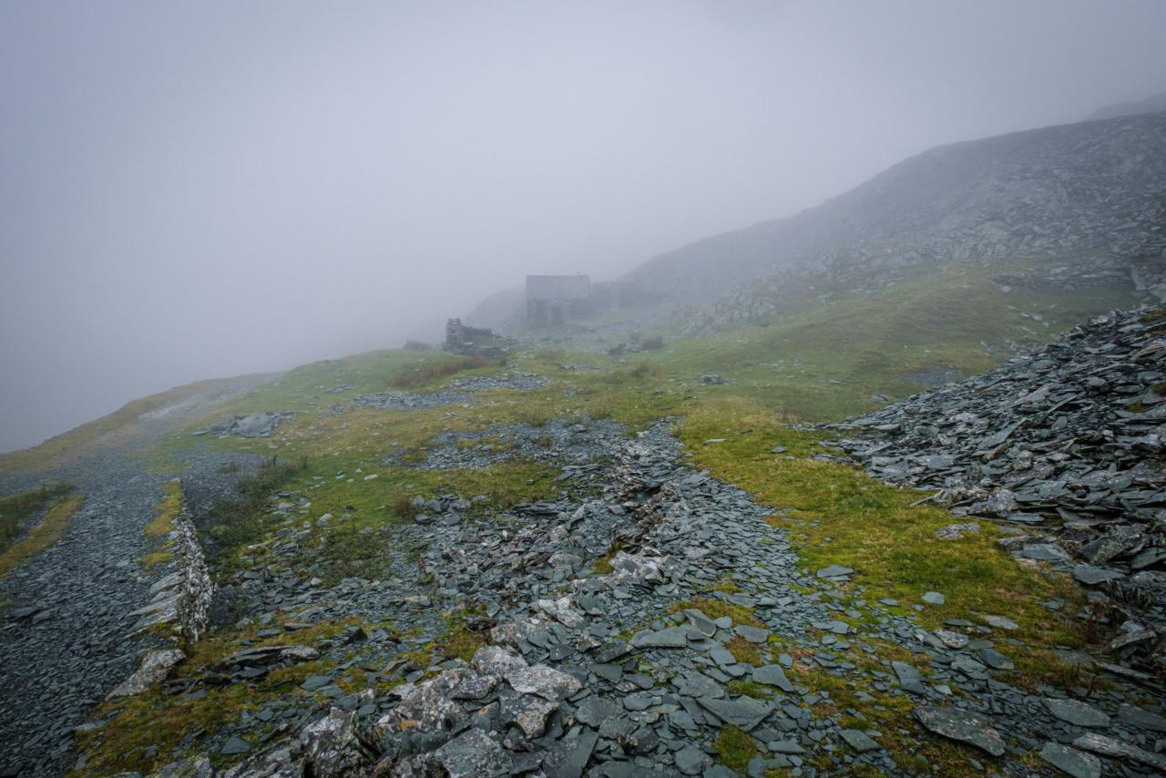 Dubs Hut in the rain