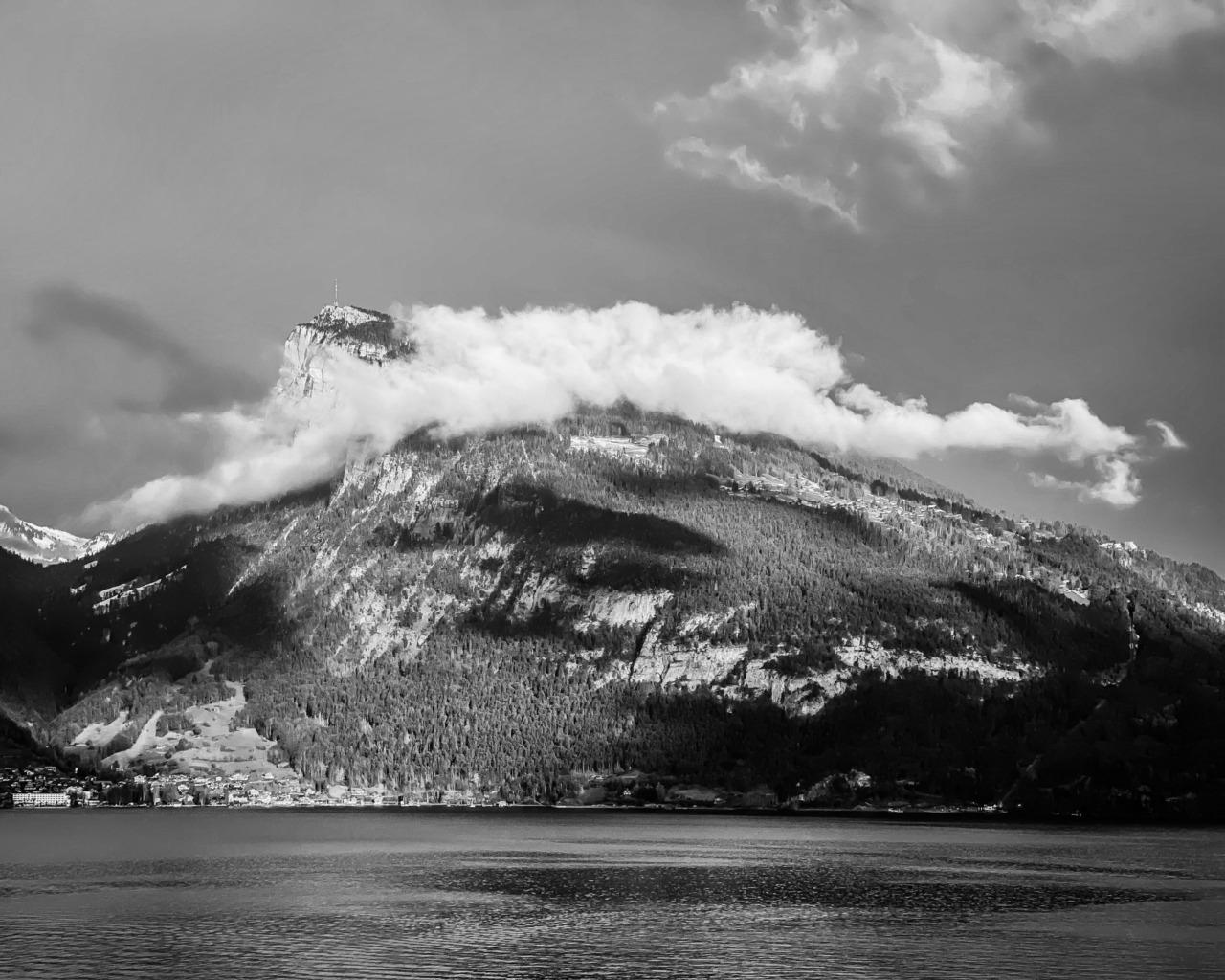 Clouds on the Niederhorn