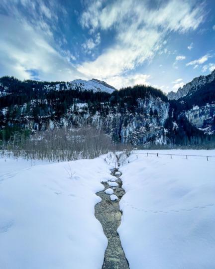 Snow in Kiental