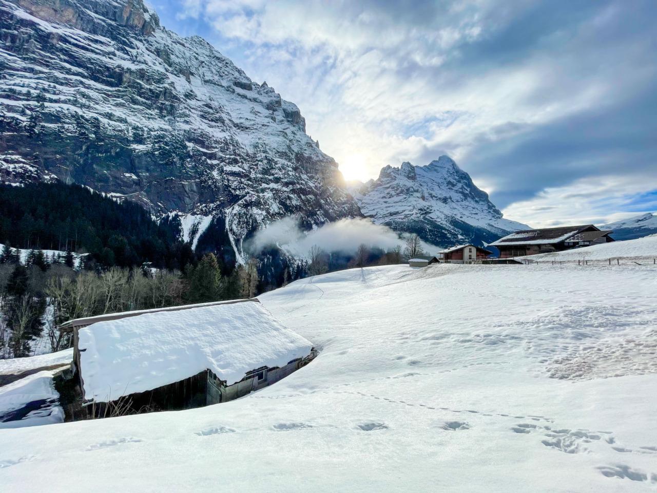 Eiger from Grindelwald