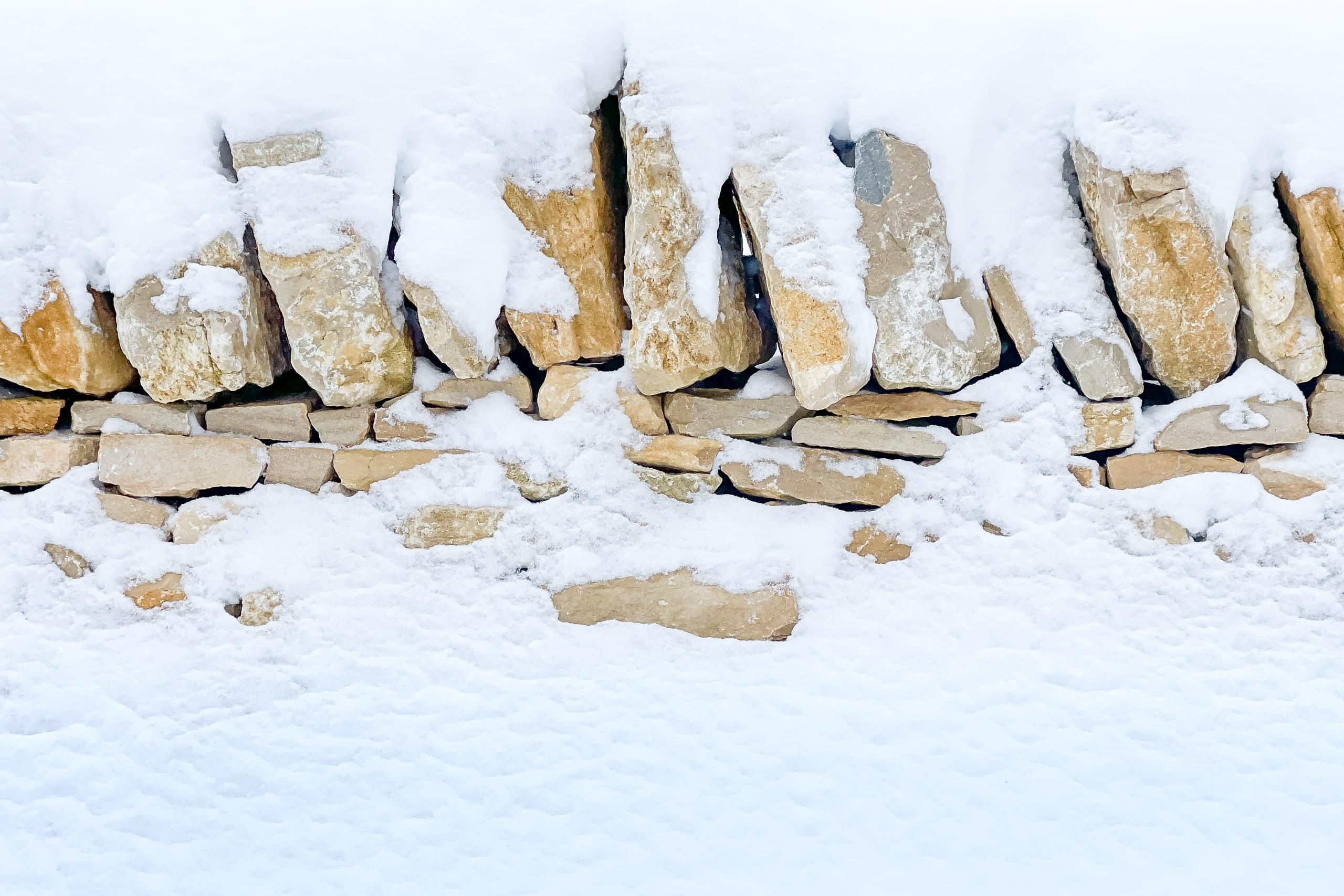 Stone wall, Le Noirmont