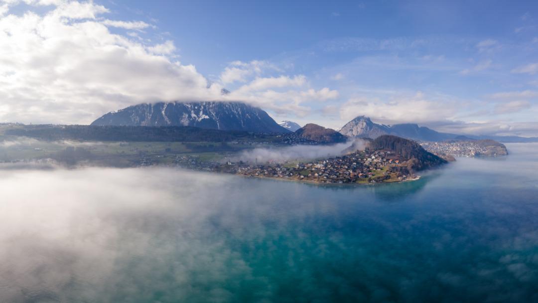 Mist over Faulensee
