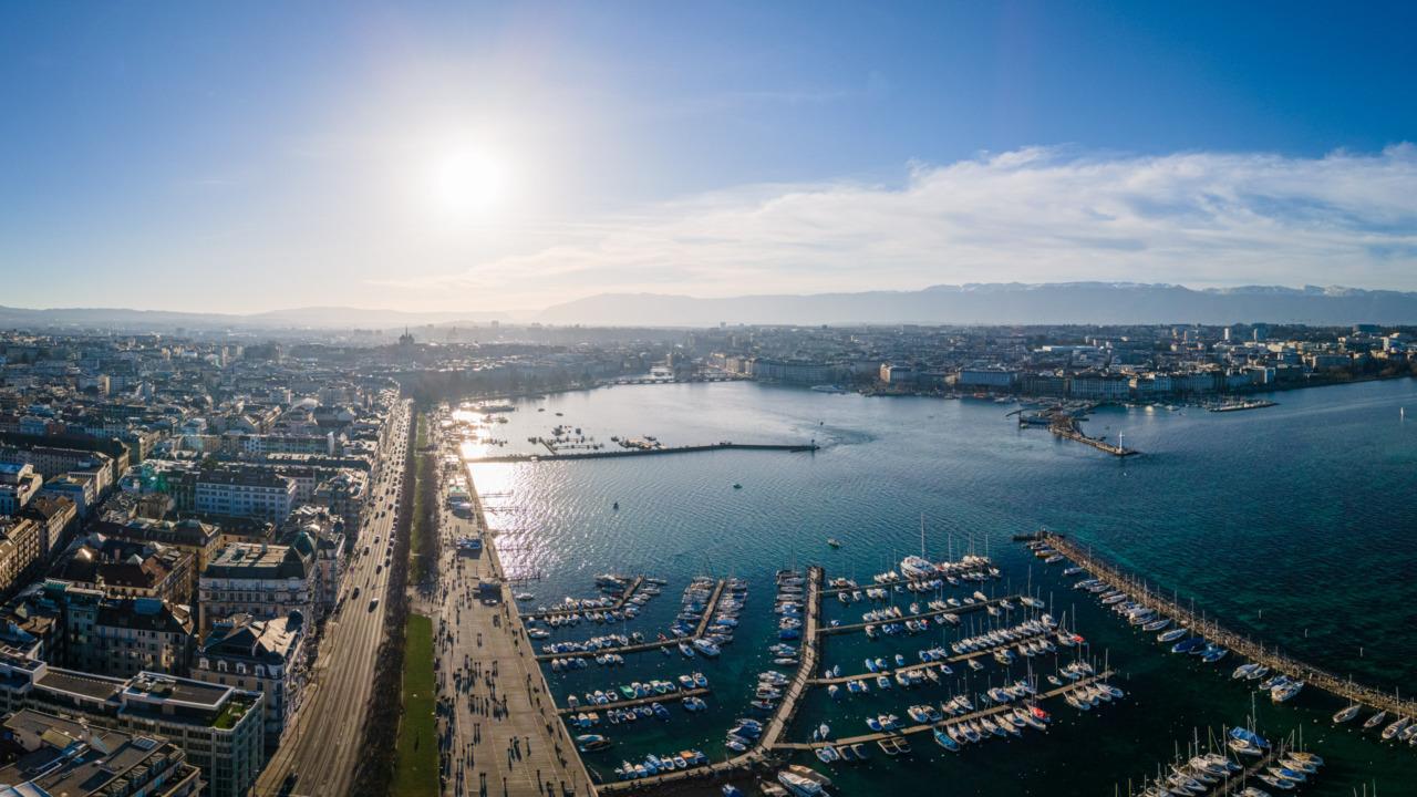 Geneva harbour
