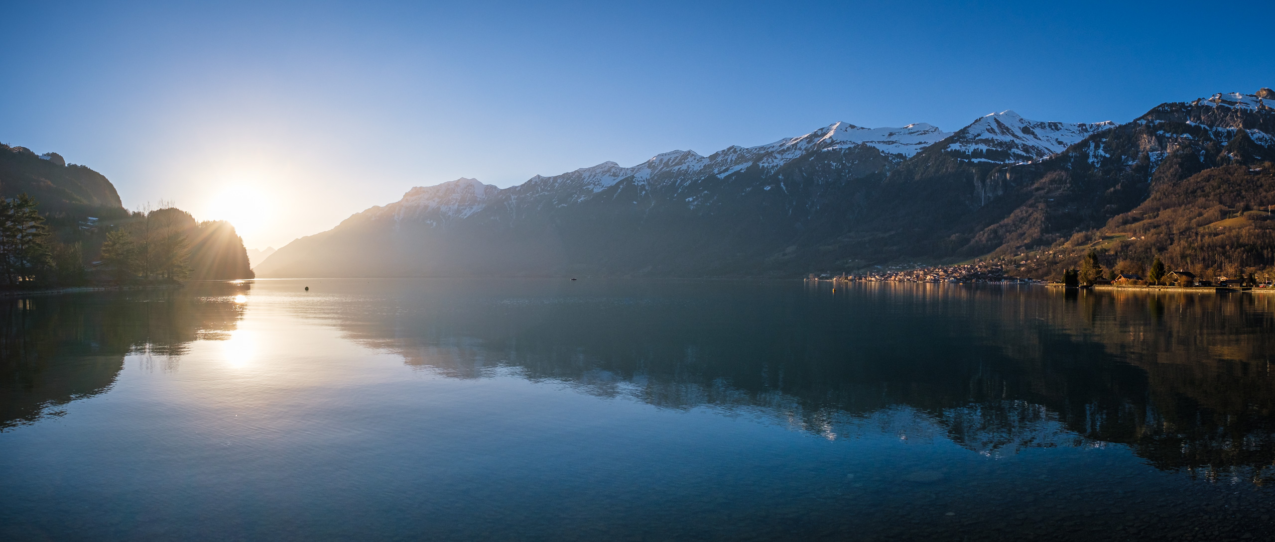 Sunset in Brienz