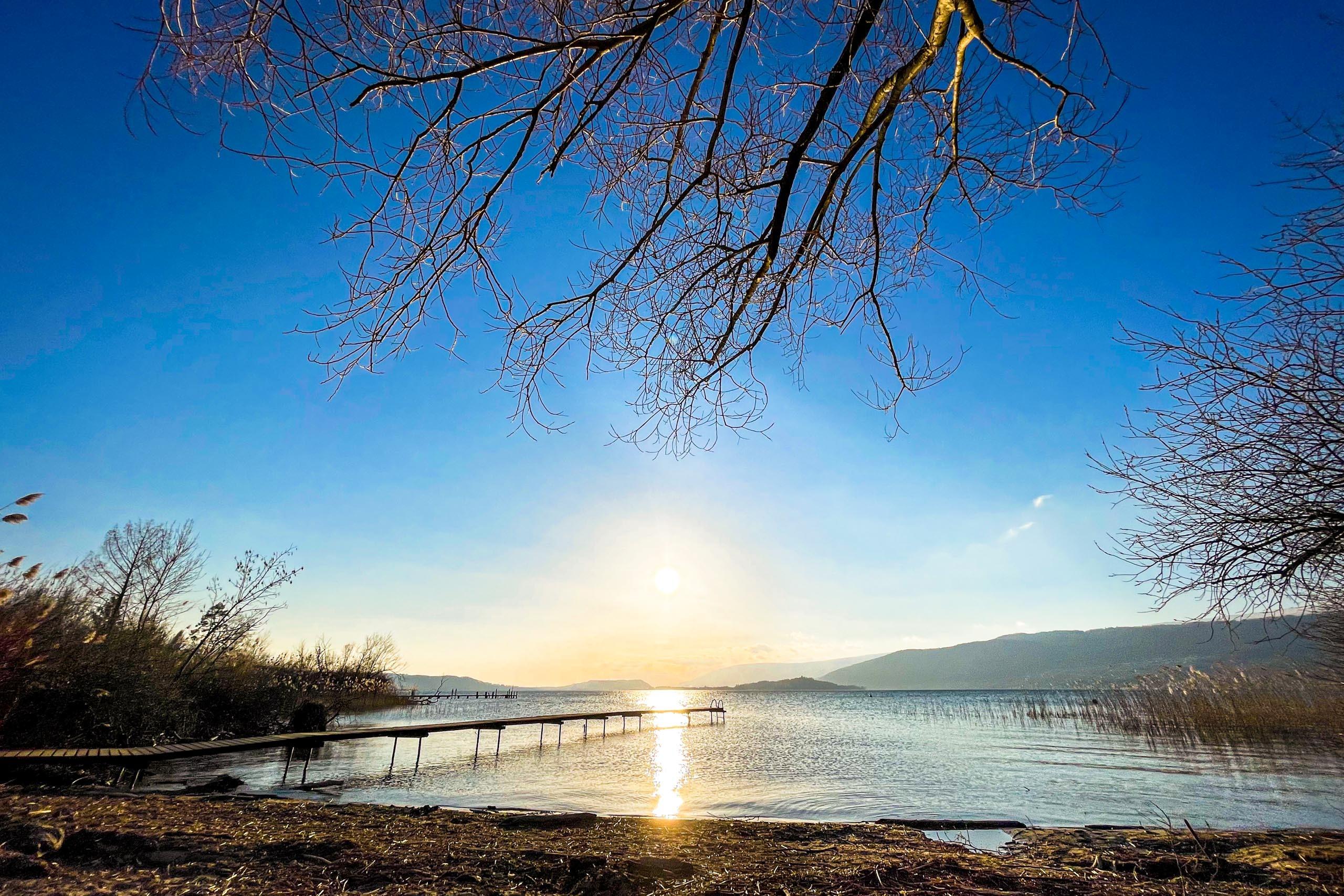 Lake Biel at Mörigen