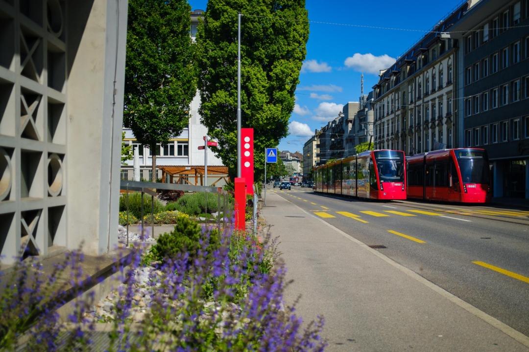 Kaufmännischer Verband (line 7, 8), Bern, Switzerland