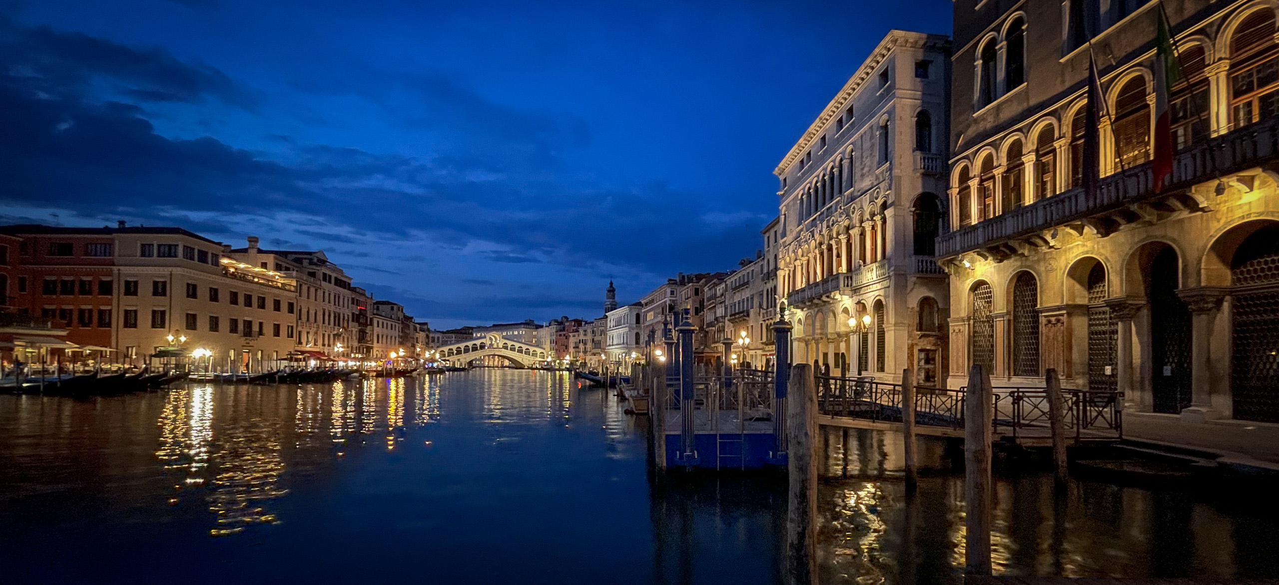 Blue hour on the Grand Canal
